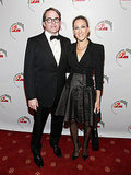 Sarah Jessica Parker and Matthew Broderick stood side by side at a NYC event.