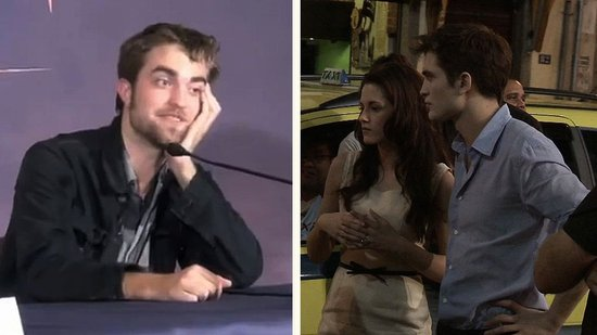 Video: Behind-the-Scenes of Breaking Dawn and Robert in Brussels!