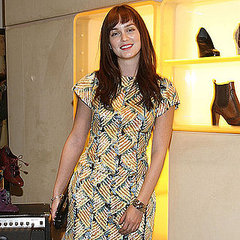 Leighton Meester at Roger Vivier Party Pictures