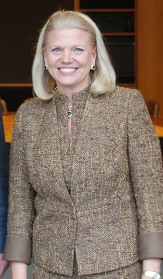 "Virginia ""Ginni"" Rometty, President and CEO, IBM"