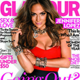 Jennifer Lopez on the Cover of Glamour Magazine