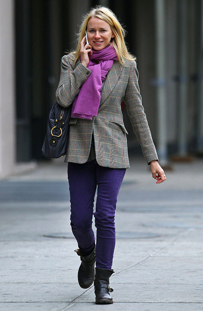 Naomi Watts in NYC.
