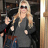 Jessica Simpson Looking Pregnant Pictures Leaving NYC