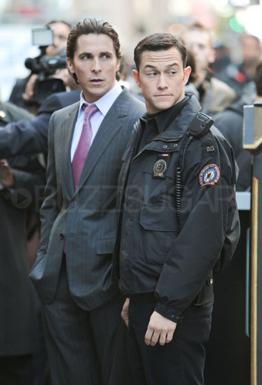 Joseph Gordon-Levitt Joins Christian Bale on The Dark Knight Rises Set!