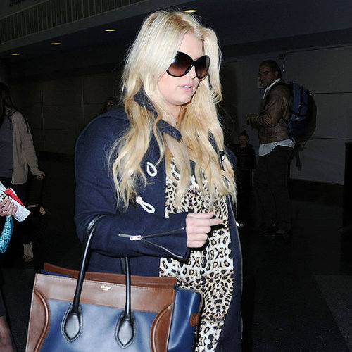 Jessica Simpson at JFK Pictures