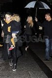 Jessica Simpson and Ashlee Simpson together in NYC.
