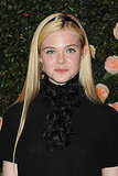 Elle Fanning at a Chanel bash in LA.