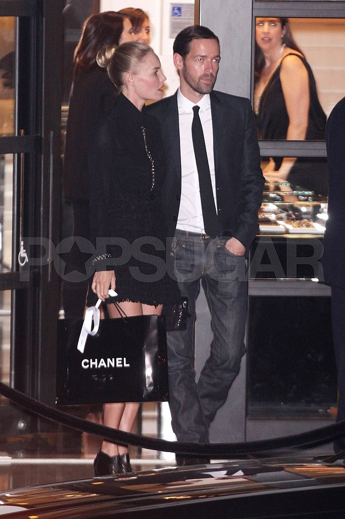 """Kate Bosworth with her """"life partner"""" Michael Polish."""