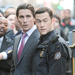 Christian Bale & Joseph-Gordon Levitt The Dark Night Rises Pictures