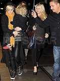 Jessica and Ashlee Simpson Do Dinner With Bronx in NYC