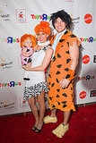 The Flintstones The Bachelor's Melissa Rycroft channeled Wilma, while her husband, Tye Strickland, went as Fred, along with their daughter, Ava, as Pebbles.