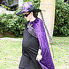 Jennifer Garner in Witch Costume on Halloween Pictures