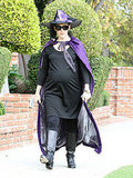 Jennifer Garner in a witch costume.
