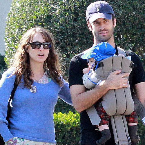 Natalie Portman and Benjamin Millepied in LA With Aleph Millepied