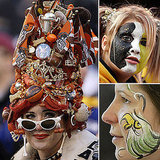 Football Face Paint Looks