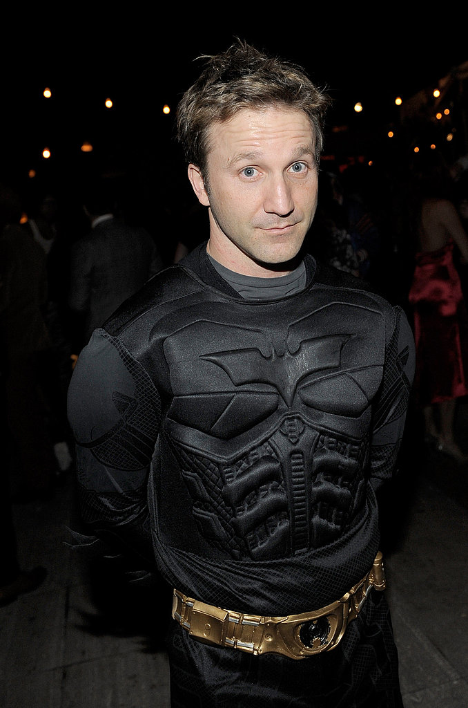 Batman Breckin Meyer went for the tried and true as a superhero.