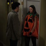 Video of Katie Holmes as Slutty Pumpkin on How I Met Your Mother Halloween Episode