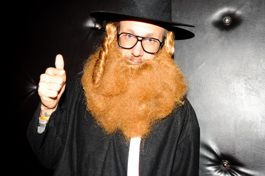 Terry Richardson got into character as a Jewish Rabbi in 2011.
