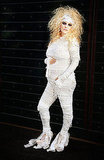 Jessica Simpson showed off her mummy style and confirmed her pregnancy with this Halloween pic in 2011.