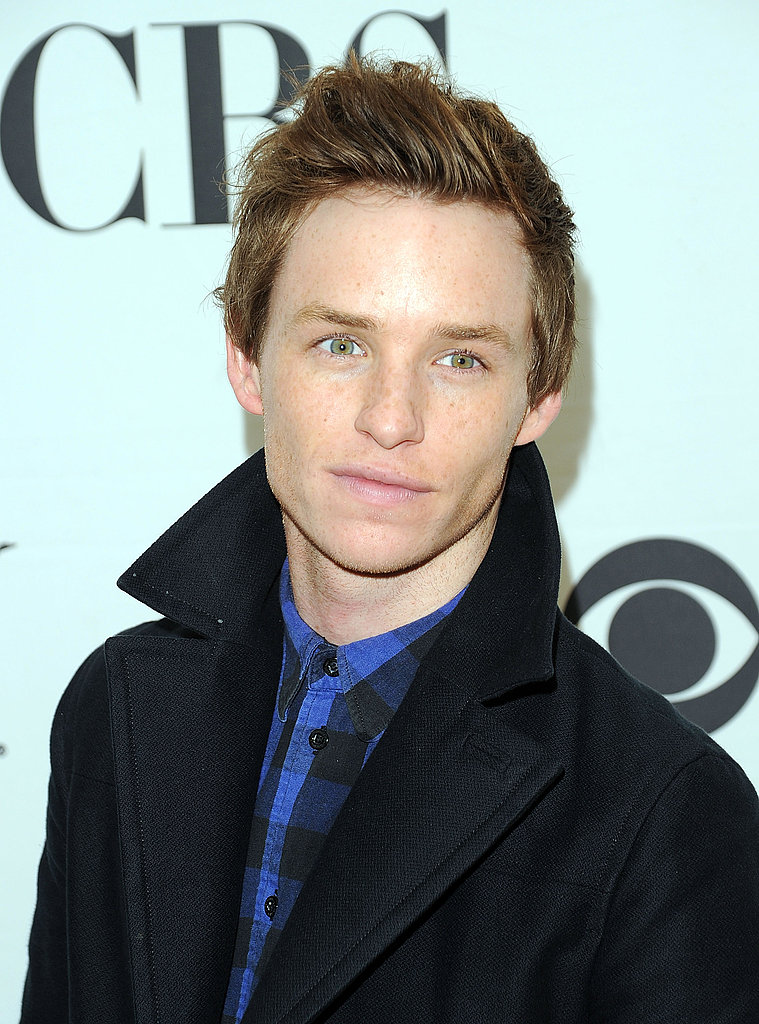 Eddie Redmayne attended a reception in 2010 for Tony Award nominees.