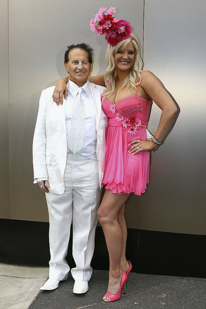 Geoffrey Edelsten and Brynne-Gordon Edelsten