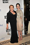 Anne Hathaway and Julie Andrews reunited at an event in NYC.