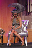 Sarah Jessica Parker wore a large hat.