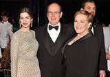 Anne Hathaway and Julie Andrews rubbed shoulders with Prince Albert in NYC.