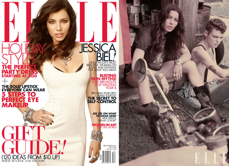 Jessica Biel Tells Elle She Almost Starred in The Notebook!