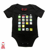 iPhone Baby Icons Onesie