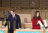 Prince William and Kate Middleton lend a hand at UNICEF.