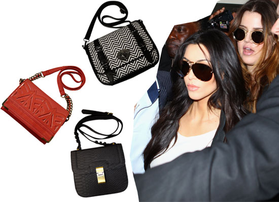 Kim Kardashian Lands in Australia! See our Top Ten Edit of her Kardashian Kollection Handbag Collection