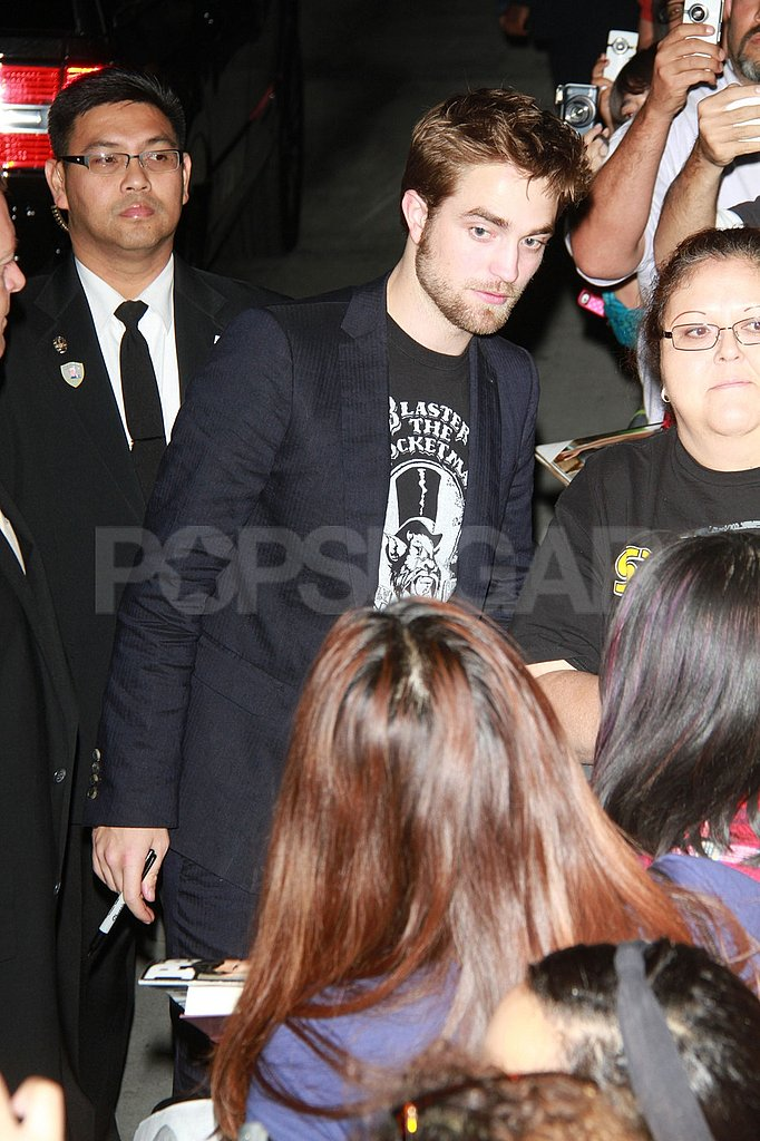Robert Pattinson made time for fans in LA.