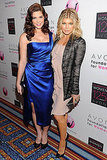 Fergie and Ashley Greene made a glam pair on the carpet.