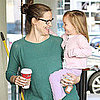 Jennifer Garner and Seraphina Smiling Pictures