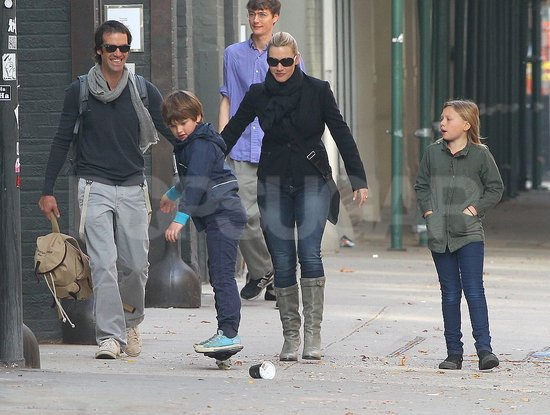 Ned Rocknroll was impressed by Kate Winslet's son Joe's ripstick skills.