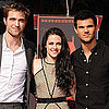 Kristen Stewart Robert Pattinson Taylor Lautner Handprint Pictures