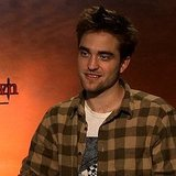 Robert Pattinson Video Interview on Breaking Dawn Birth Scene and Being Seduced by Kristen Stewart