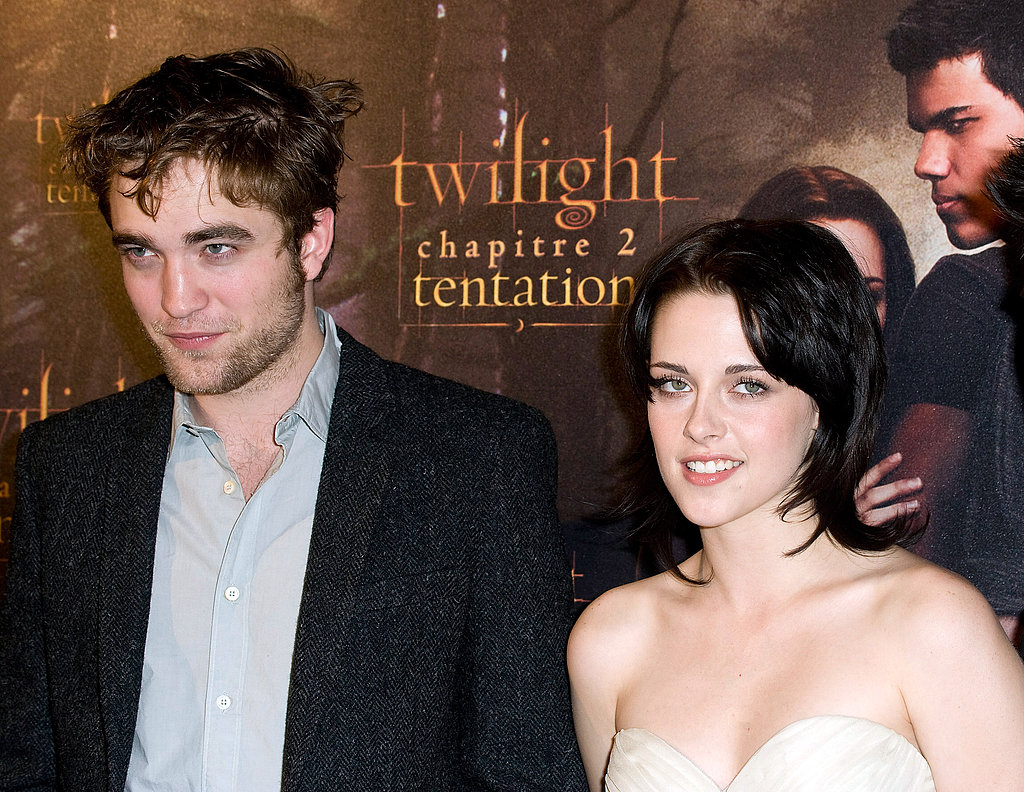 Robert Pattinson and Kristen Stewart arrived together to the Paris premiere of New Moon in November 2009.