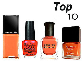 10 of the Best Orange Nail Polishes
