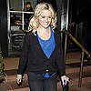 Reese Witherspoon Sheer Shirt Pictures Leaving Dinner With Diaz