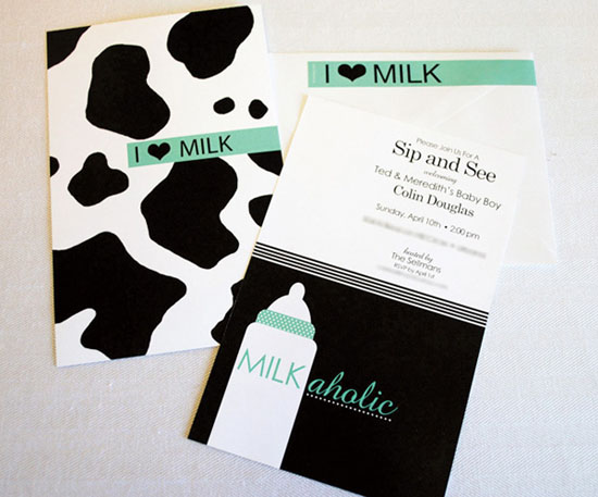 Milk Bottle Cow Print Baby Shower Invitation A man meets a woman, and we're not even five minutes into the running time ...