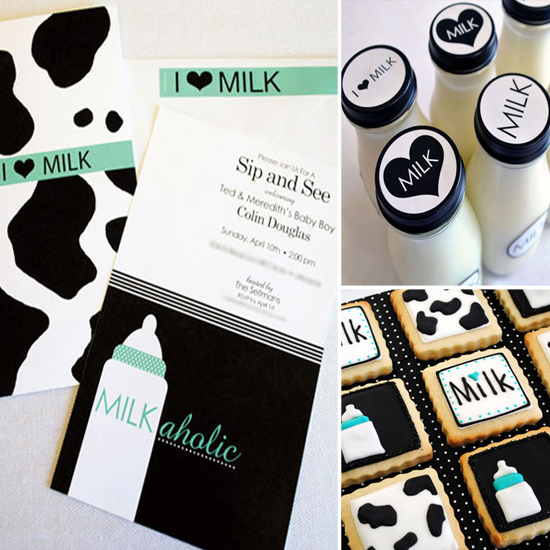 Coed Milk Cookies Themed Baby Shower A man meets a woman, and we're not even five minutes into the running time ...