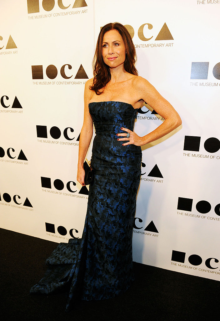 Minnie Driver looked sleek at the 2011 MOCA Gala.