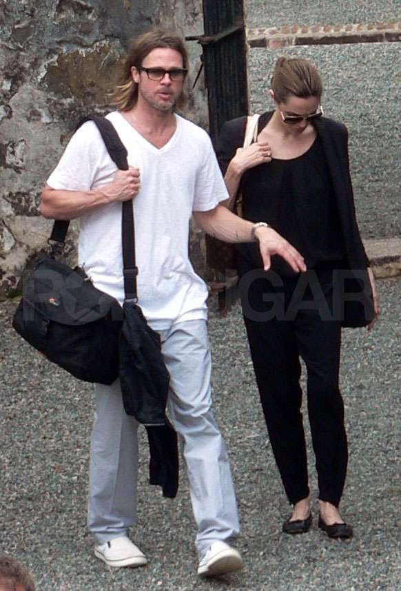 Brad Pitt and Angelina Jolie visited the island prison of Con Dao.