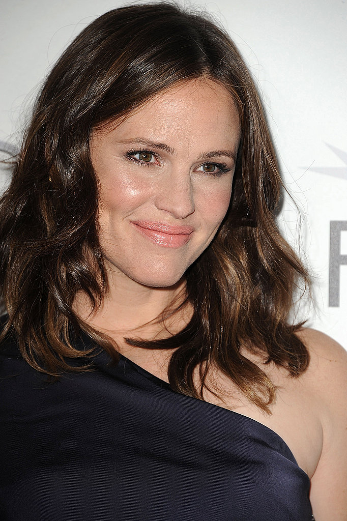 Jennifer Garner offered a smile at an event in LA.