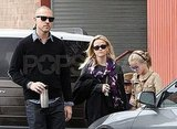 Reese Witherspoon and Jim Toth out in LA with Ava and Deacon.