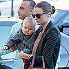 Miranda Kerr and Orlando Bloom With Flynn Pictures