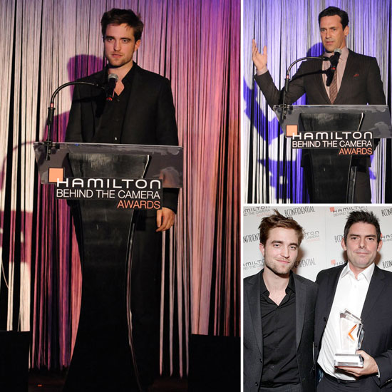 Robert Pattinson Makes a Speech to Honor His New Moon Director
