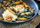 Vegetarian Hash With Leeks, Chard, and Fingerling Potatoes